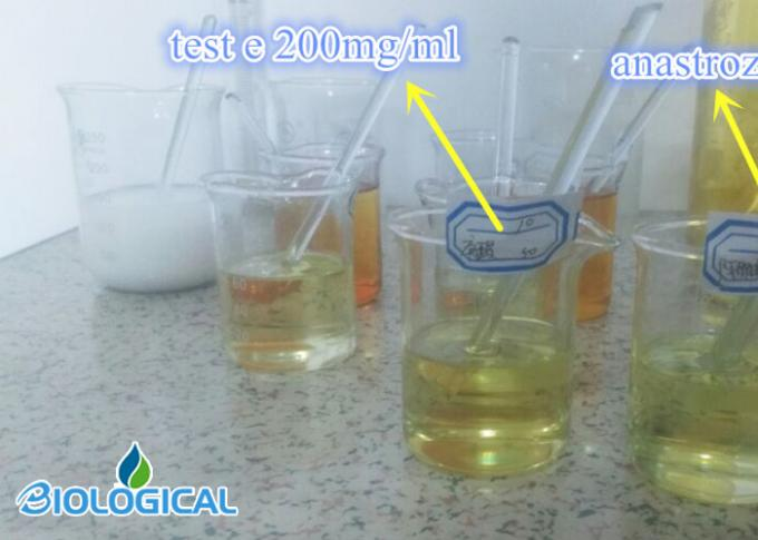 Yellow Legal Injectable Steroids Liquid Trenbolone Enanthate 150/ 200 Mg / Ml