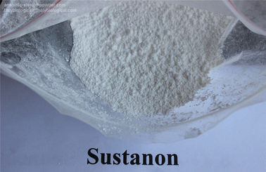 China Natural White Anabolic Steroids Powder Testosterone Sustanon 250 CAS 5721-91-5 supplier