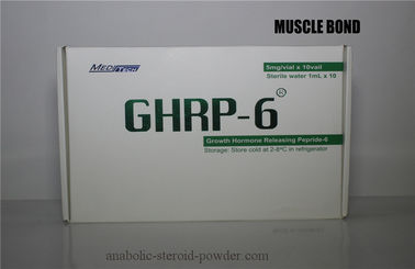 GHRP-2 Anti - inflammatory Polypeptide Growth Hormone GHRP-6 For Muscle Building