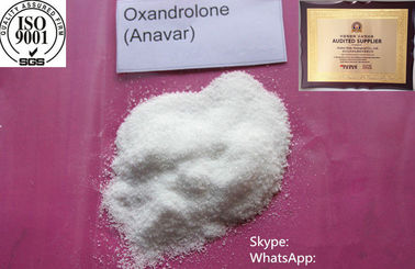 CAS 53-39-4 Oral Anabolic Steroid Powder Anavar Oxandrolone For Fat Burning