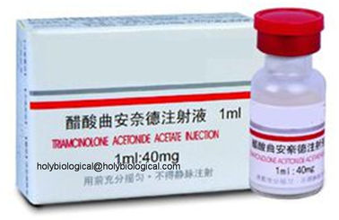 China Adrenal Hormone Medicine Triamcinolone Acetonide for Neurodermatitis and Eczema supplier