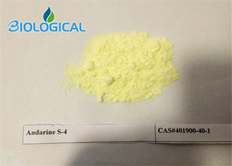 Yellow GTX-007 SARM Steroids CAS 401900-40-1 S4 Andarine Powder For Muscle Building